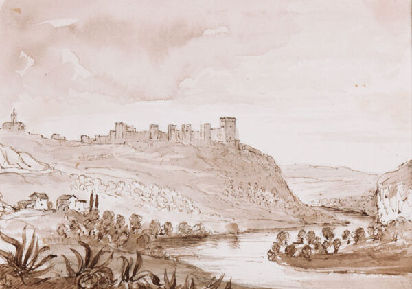 CRICHTON-STUART Lady James (Nee Hannah Tighe) (1800-1872) - 'On the Guadalquivir – Seville'.