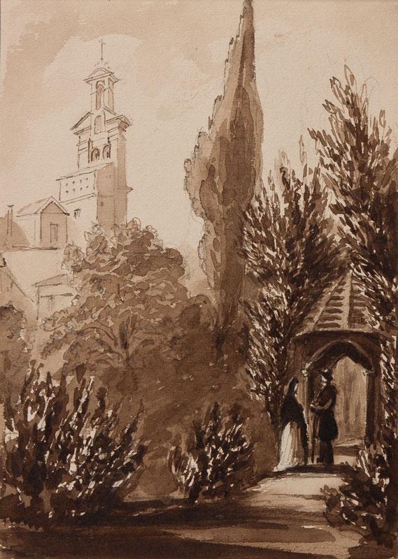 CRICHTON-STUART Lady James (Nee Hannah Tighe) (1800-1872) - 'Duke of Alva's Garden.
