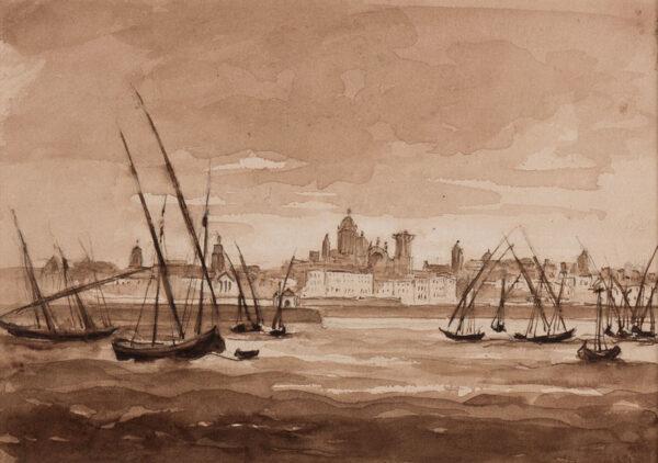 CRICHTON-STUART Lady James (Nee Hannah Tighe) (1800-1872) - 'Cadiz'.