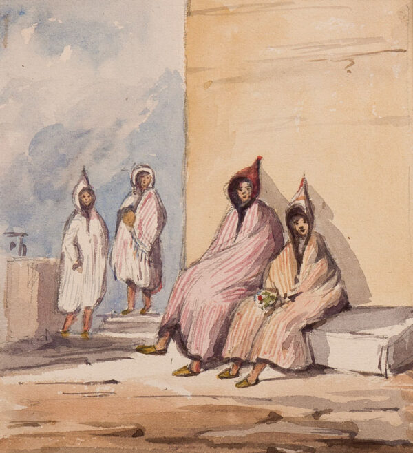 CRICHTON-STUART Lady James (Nee Hannah Tighe) (1800-1872) - 'Tangiers.