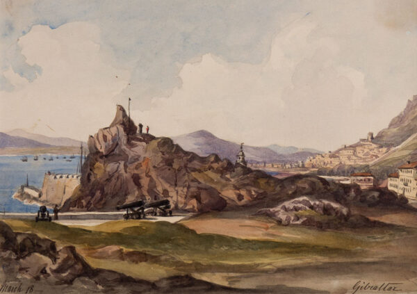 CRICHTON-STUART Lady James (Nee Hannah Tighe) (1800-1872) - 'Gibraltar.