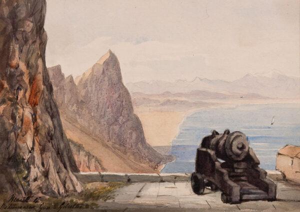 CRICHTON-STUART Lady James (Nee Hannah Tighe) (1800-1872) - 'Mediterranean Gun.