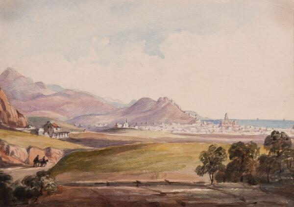 CRICHTON-STUART Lady James (Nee Hannah Tighe) (1800-1872) - 'Malaga'.