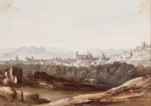 CRICHTON-STUART Lady James (Nee Hannah Tighe) (1800-1872) - 'Granada, April 27'.