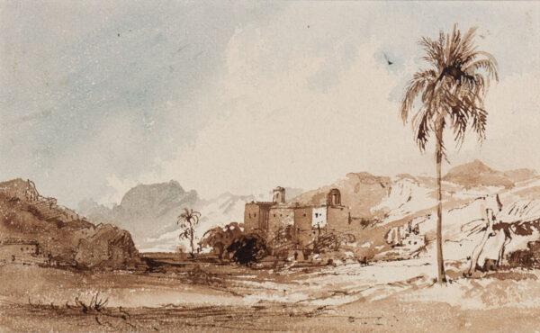 CRICHTON-STUART Lady James (Nee Hannah Tighe) (1800-1872) - 'Near Malaga'.