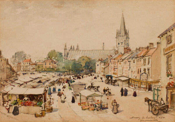 LAING James Garden R.S.W. (1852-1915) - 'Yarmouth'.