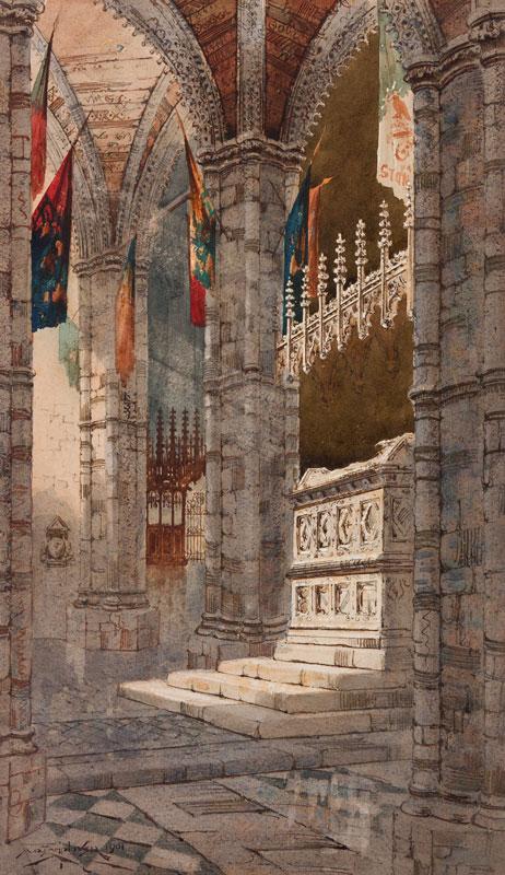 LAMPLOUGH Augustus Osborne (1877-1930) - Westminster Abbey.