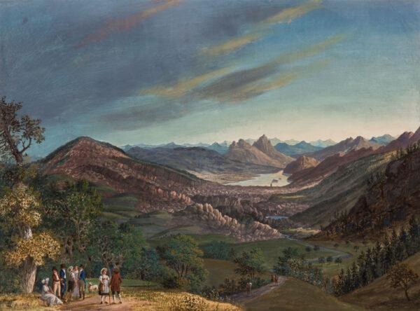 LANDERSET Joseph de (1753-1824) - Switzerland.