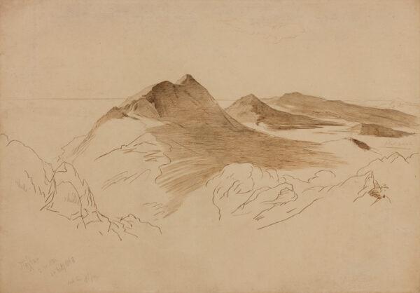 LEAR Edward (1812-1888) - 'Peleka', Corfu.