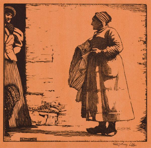 LEE Sydney (1866-1949) - Breton woman.