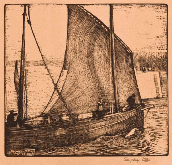 LEE Sydney (1866-1949) - Fishing Boat.