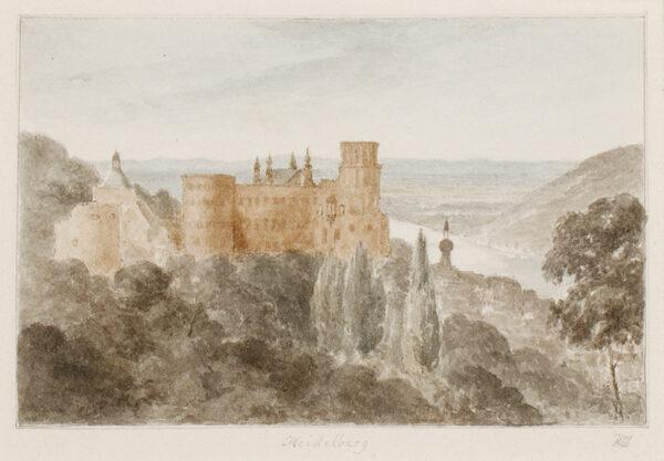LEGGE Heneage Hon. M.P. (1788-1844) - 'Heidelberg'.
