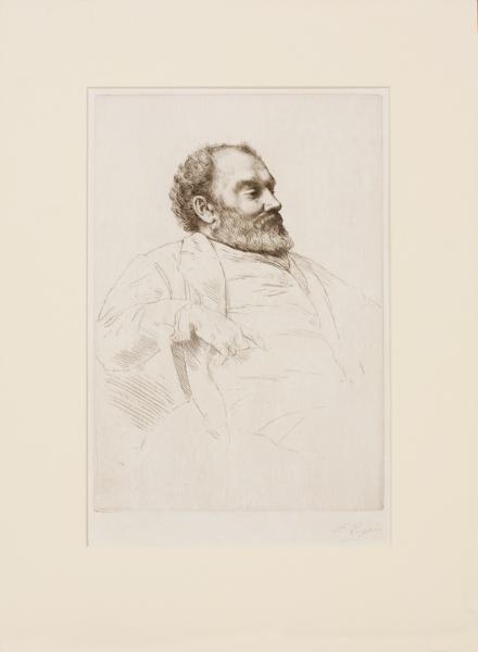 LEGROS Alphonse R.E. (1837-1911) - 'Val Prinsep R.