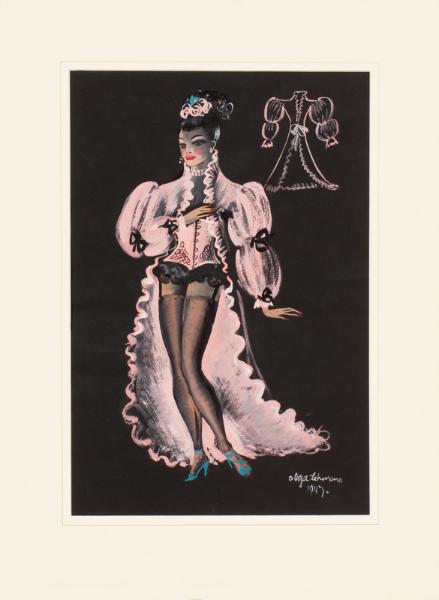 LEHMAN Olga (1912-2001) - Theatrical costume design.