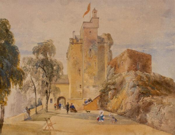 LEITCH William Leighton R.I. (1804-1883) - Perthshire.