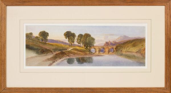 LEITCH William Leighton R.I. (1804-1883) - Capriccio landscape.