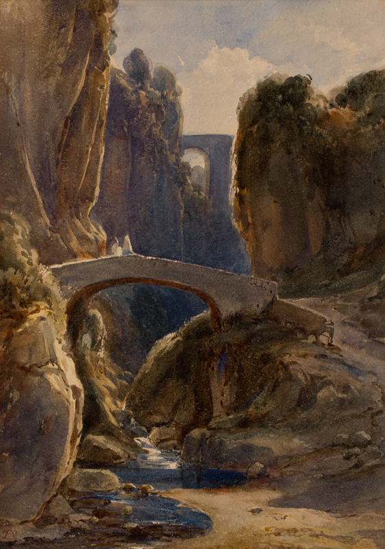LEITCH William Leighton R.I. (1804-1883) - Italy.
