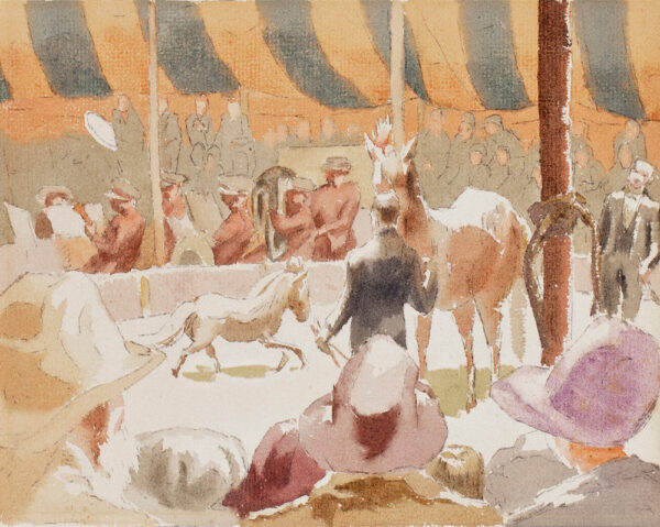 LESSORE Therese (1884-1945) - 'Dignity and Impudence', the Olympia Circus.