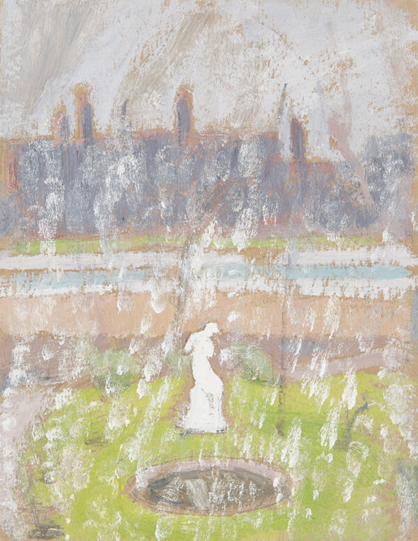 LESSORE Helen (1907-1994) - 'Snowstorm 8th April 1970'.