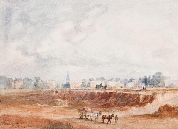 LINDSAY Thomas (1783-1861) - 'Blackheath'.