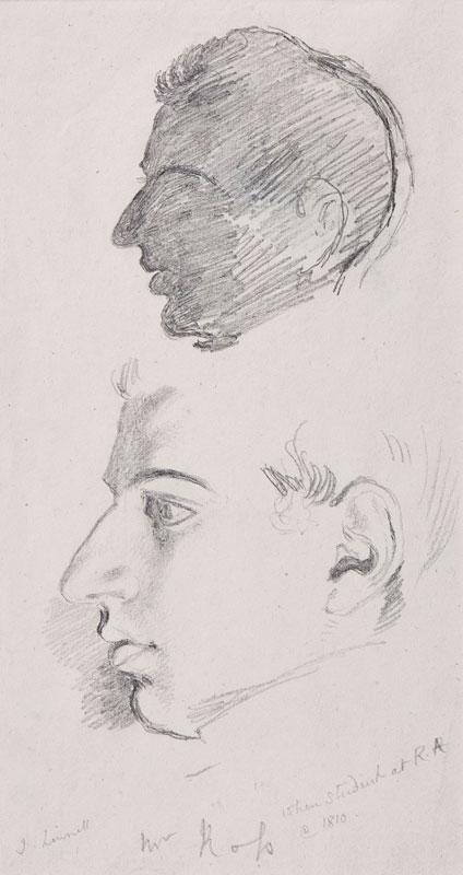 LINNELL John (1792-1882) -  Sir William Charles Ross R.