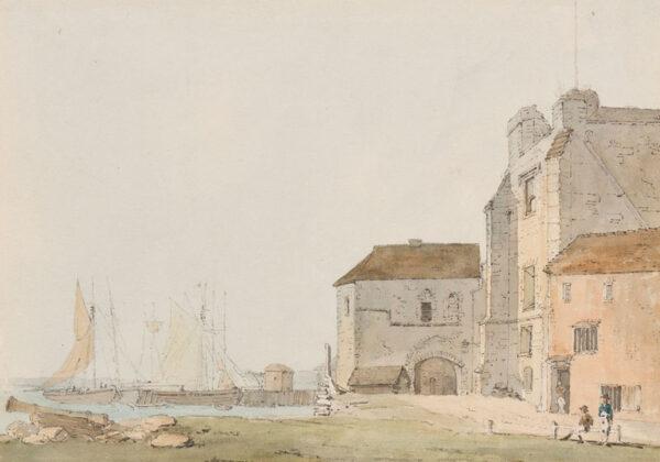 LOCKER Edward Hawke (1777-1849) - Southampton: 'God's House Gate'.