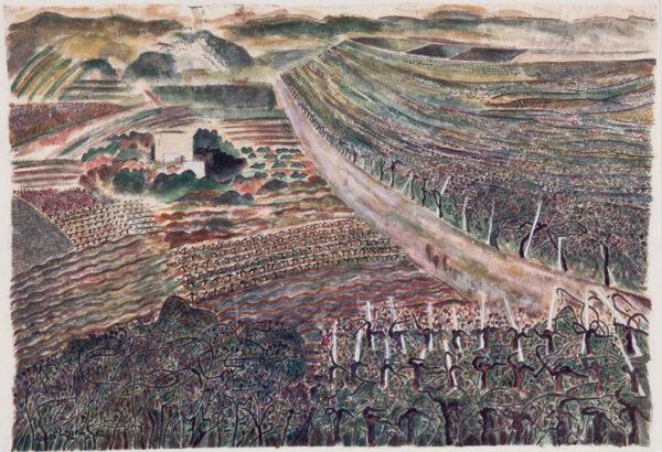 LOIZOU Renos (1948 - 2013) - 'The Grape Garden'.