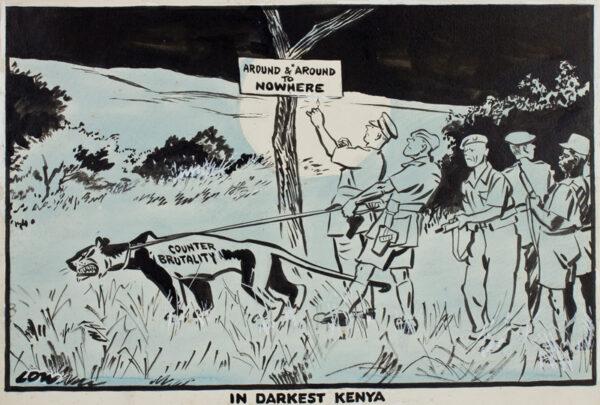 LOW Sir David (1891-1963 - 'In Darkest Kenya'.