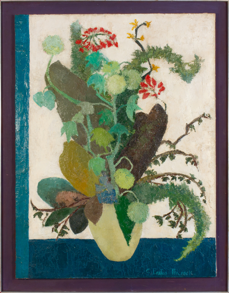 LOXTON PEACOCK Clarissa (1929-2004) - 'Country Flowers'.