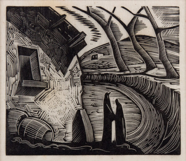 ROBERTS Luther (1923-1988) - Nine proof wood-engravings from the artist's estate.