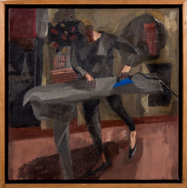MABBUTT Mary (b.1951) - Study for 'Ironing'.