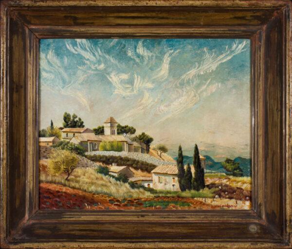 MACKINNON Sine (1901-1996) - 'Van Gogh's Monastery, Saint Paul de Mausole, Saint-Remy'.