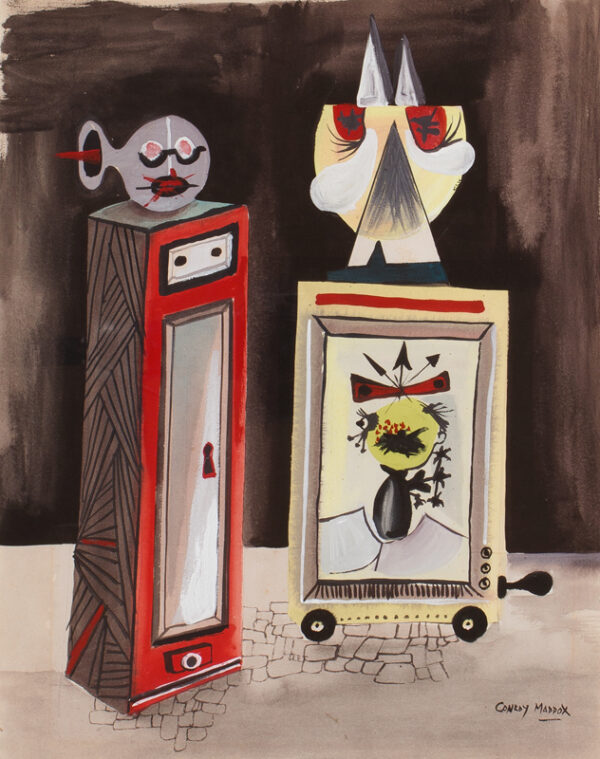 MADDOX Conroy (1912-2005) - Deformed still-life.