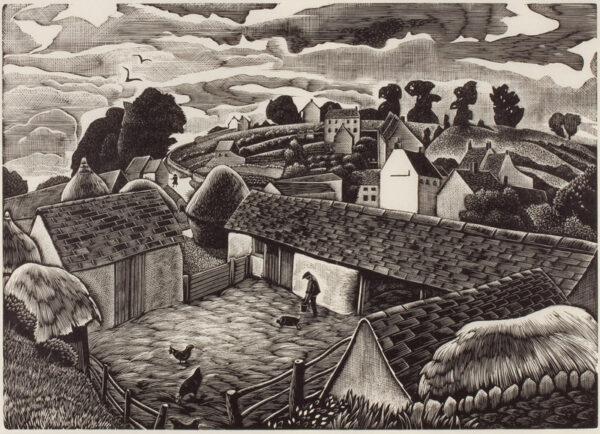 MALET Guy Warre Seymour (1900-1973) - Farm on Sark.