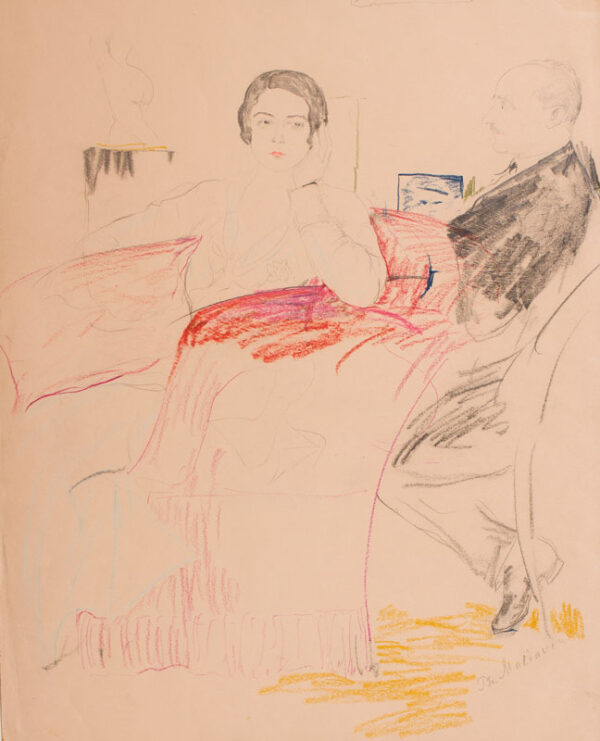 MALIAVIN Philip (Filip Andreyich Malyavin) (1869-1940) - The Exiles.