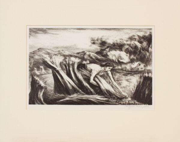 MANGRAVITE Peppino (American/Italian 1896-1978) - 'Tomorrows bread'.