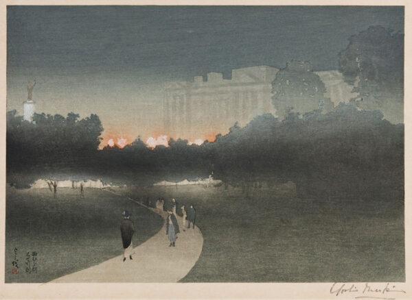 MARKINO Yoshio (1869-1956) - Buckingham Palace.