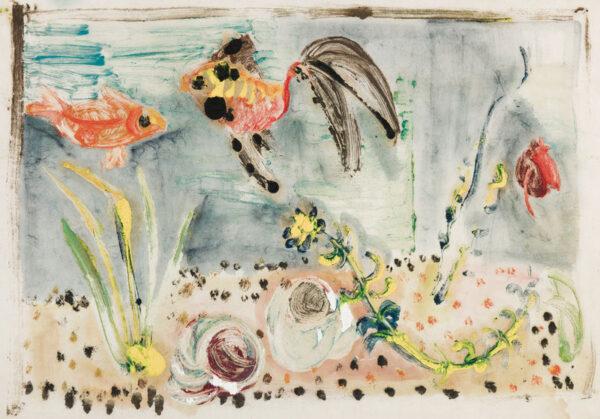 MARKS Grete (1899-1990) - Aquarium.