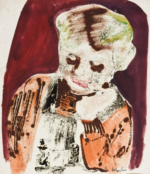 MARKS Grete (1899-1990) - The artist's daughter.