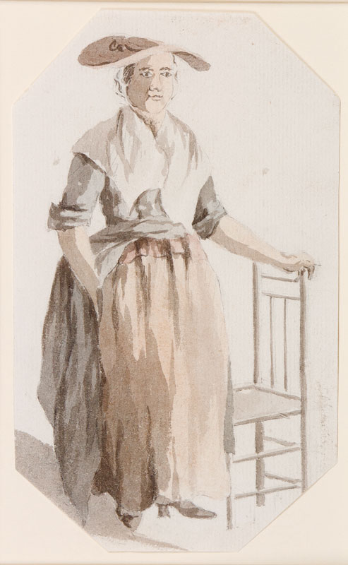 MARLOW William (1740-1813) Circle of - Woman.