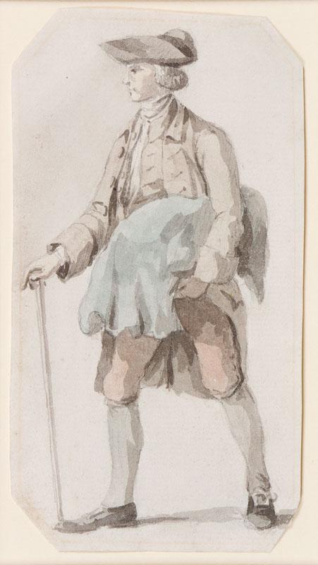 MARLOW William (1740-1813) Circle of - Standing Man.