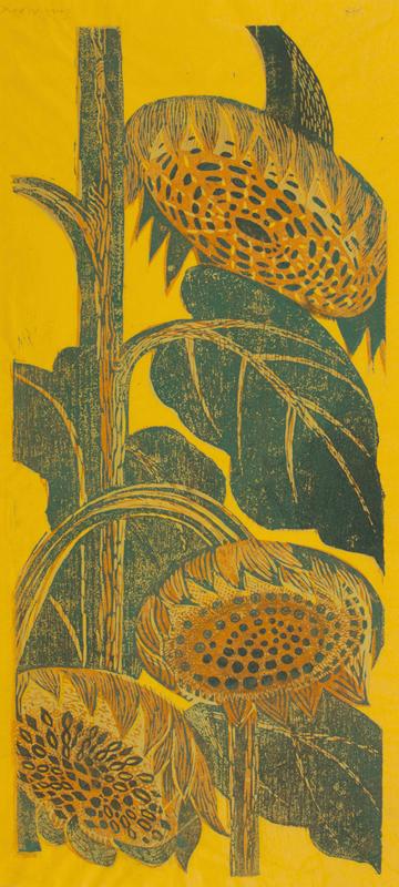 MARX Enid (1902-1998) - Sunflowers.