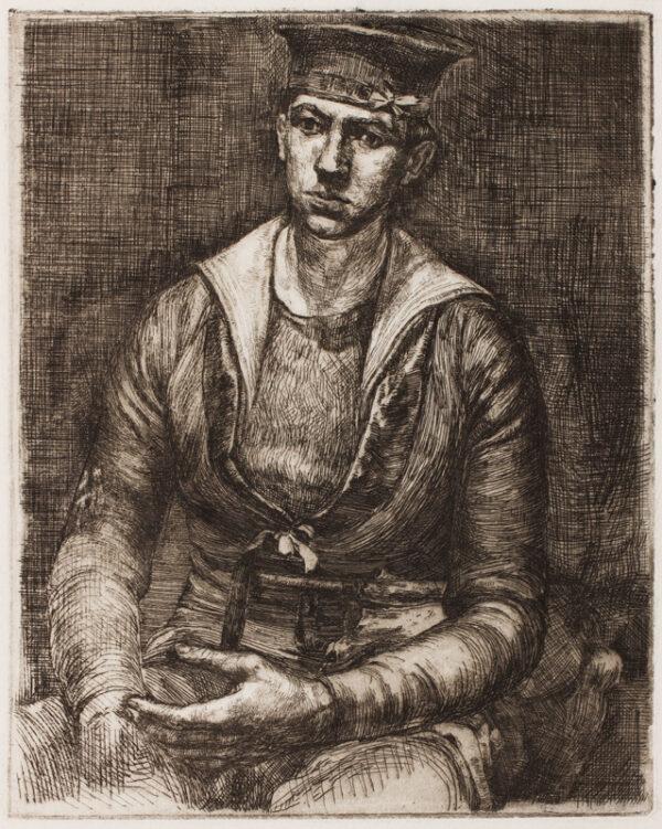 MASON Raymond (1922-2010) - 'Self-portrait'.