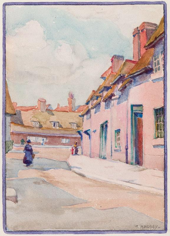 MASSEY Gertrude (1868-1957) - Berkshire.