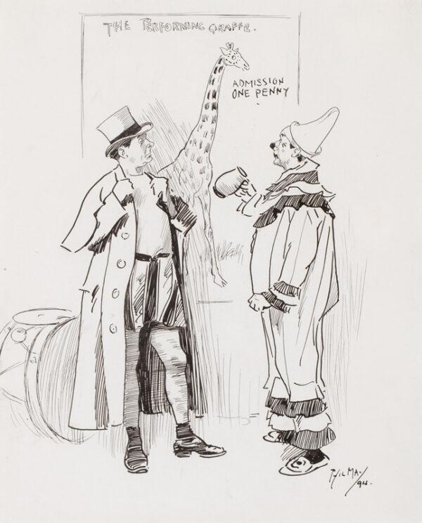 MAY Phil R.I. (1864-1903) - Circus Life.