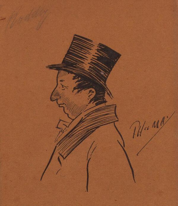 MAY Phil (1864-1903) - 'Roddy'.