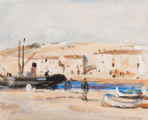MAYOR Fred I.S. (1865-1916) - 'The harbour, Cassis'.