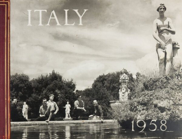 McBEAN Angus (1904-1990) - 'Italy 1958'; a photograph album recording a trip across and down Italy.