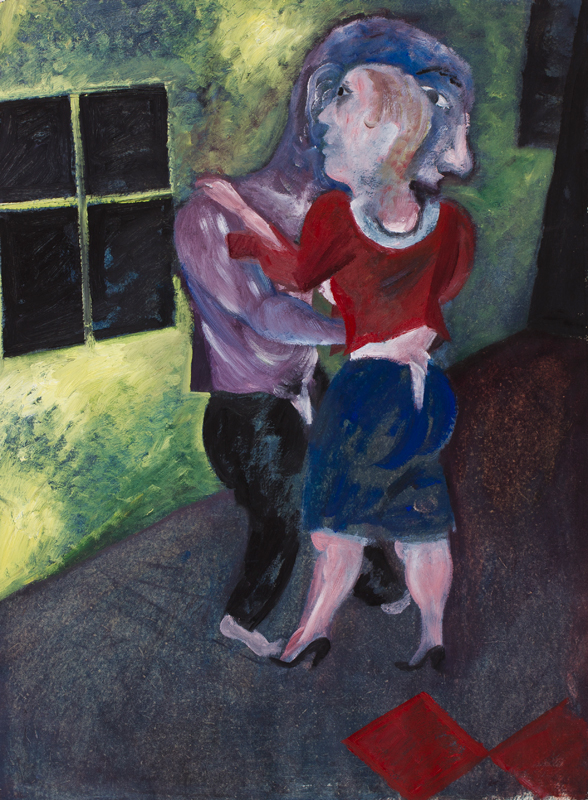 MCFADYEN Jock (b.1950) - Dancing.