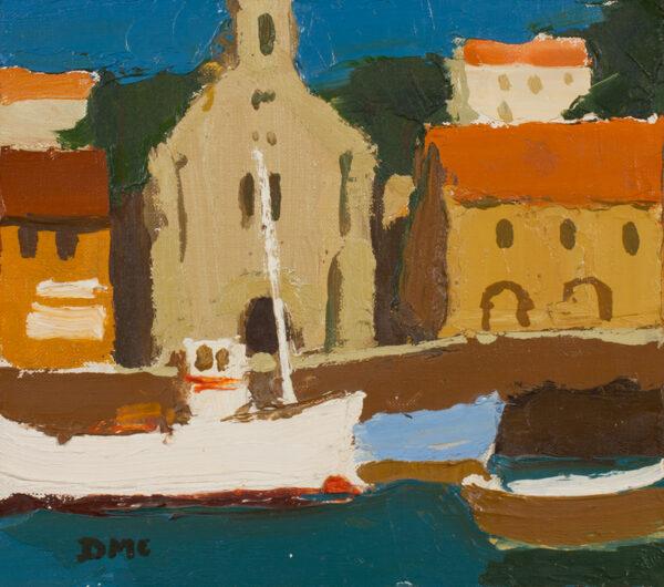 McINTYRE Donald (b.1923) - 'Port Vendres'.